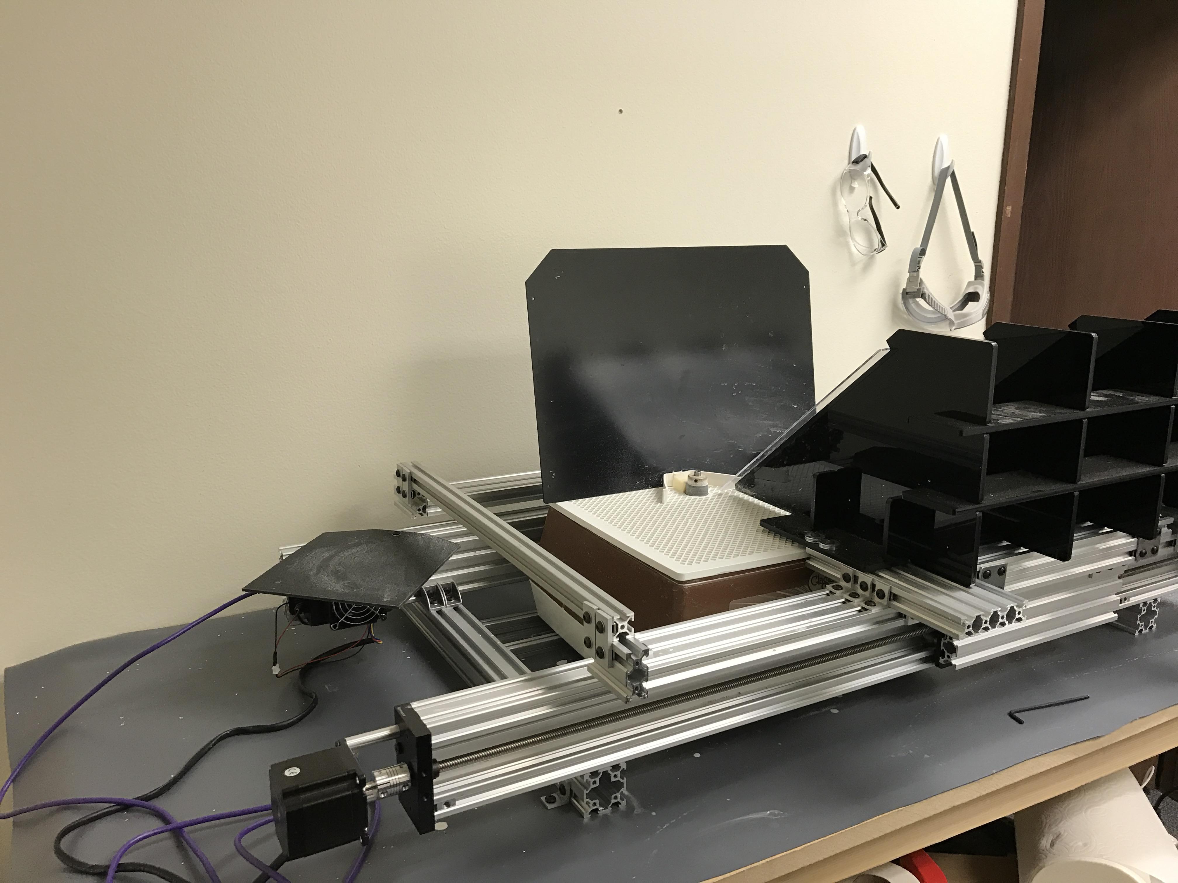 CNC glass grinder