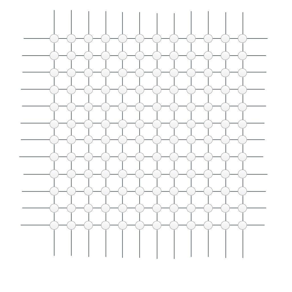 A lattice for pixels