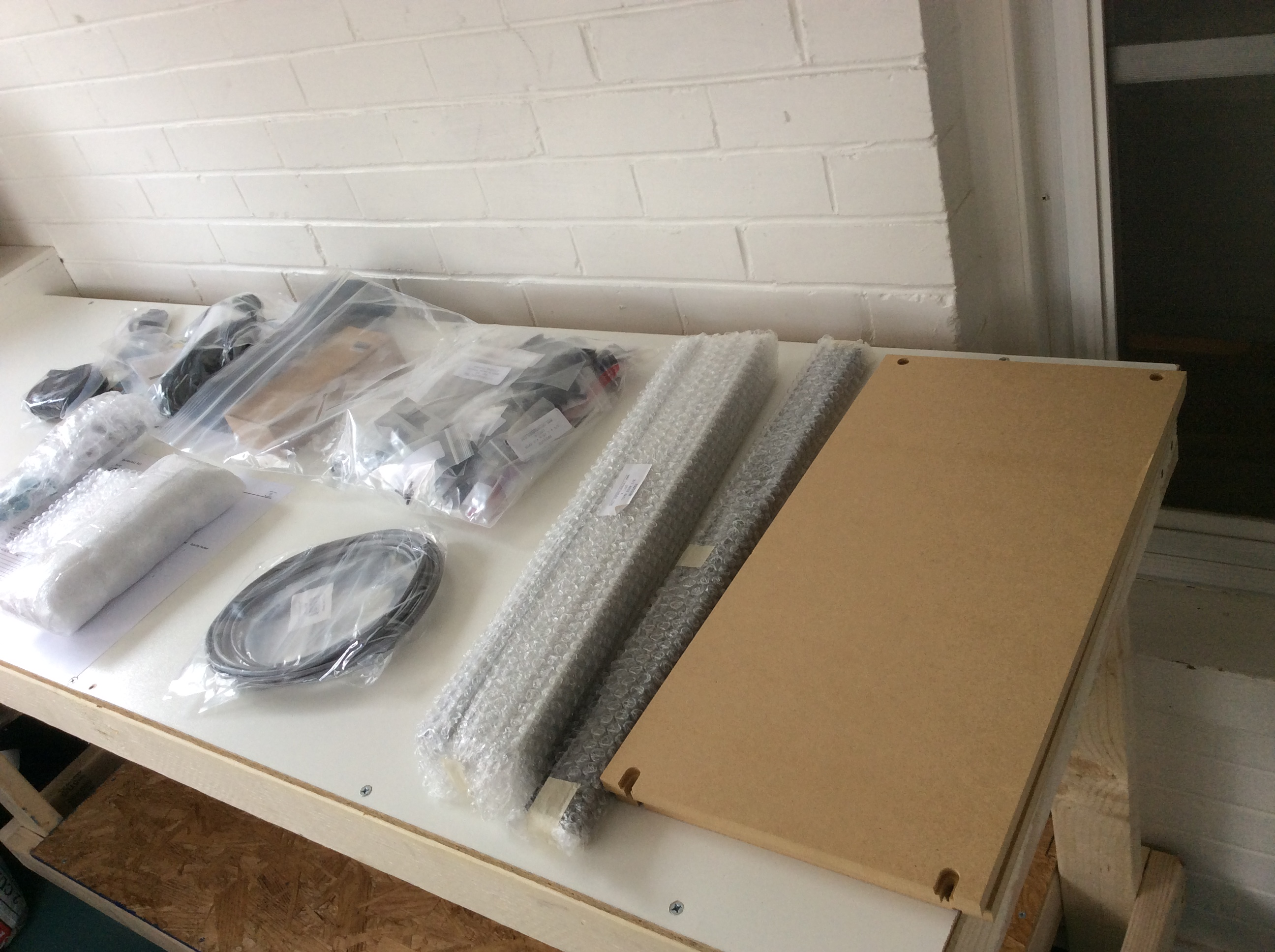 Parts for the CNC router